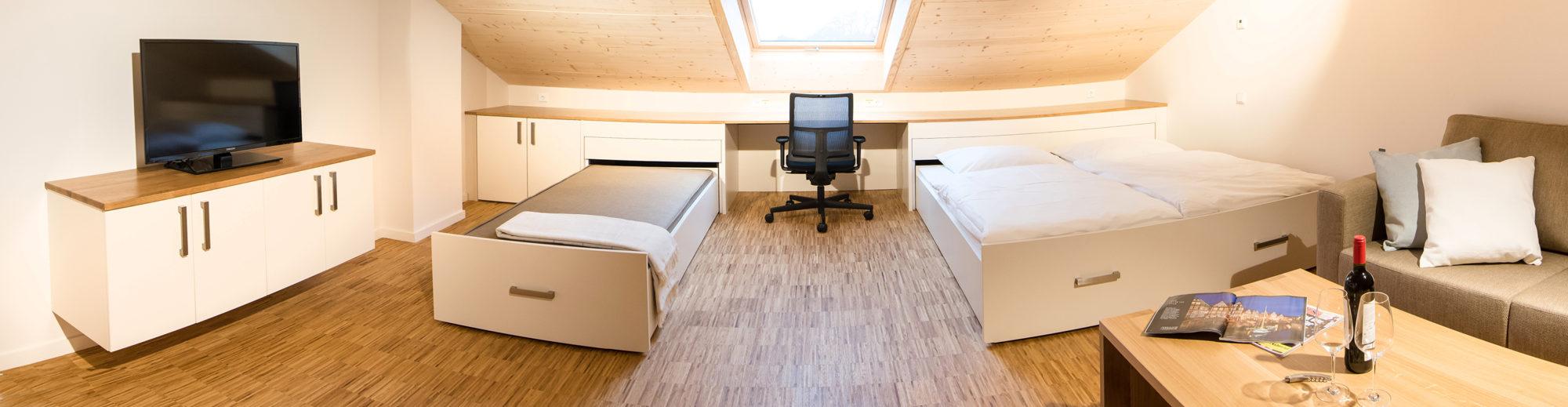 Maisonette-Apartment Innenansicht